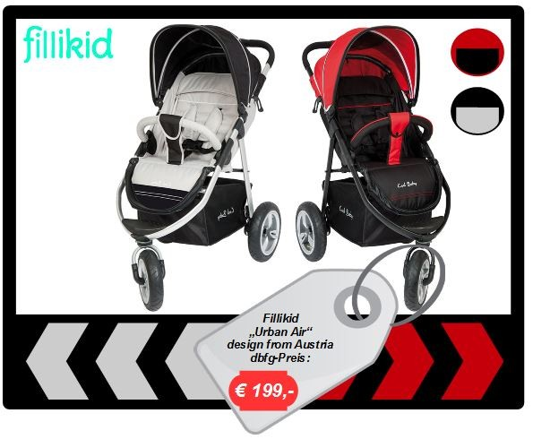 "Fillikid Jogger ""Urban Air"""