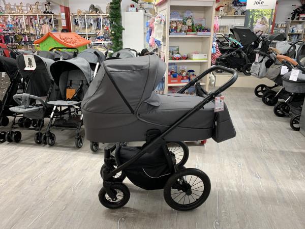 """Jedo """"Luna XXL"""" Modell 2020 Kinderwagen grau/Sterne"""