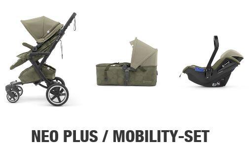 "Concord ""Neo Plus Mobility Set"" (ohne Babyschale) Farbe: grau"