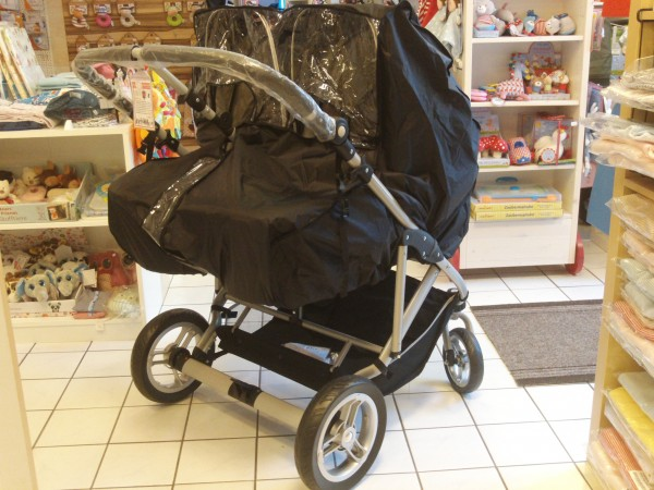 "Regenverdeck Nylon für Bassonbaby ""Duo Twin"""