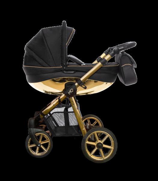 "Babyactive Kinderwagen ""Mommy Glossy"" schwarz/gold"