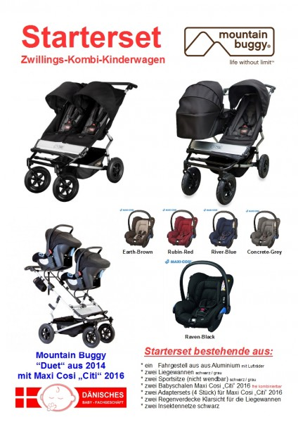 "Mountain Buggy ""Duet"" Starterset"